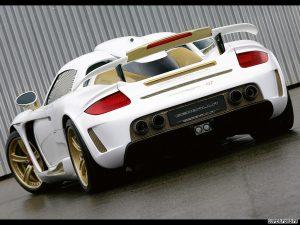 2009 Gemballa Porsche Carrera GT Mirage Gold
