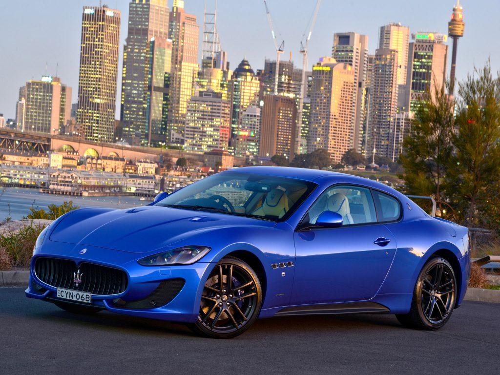 2015 Maserati Granturismo MC Sportline