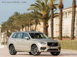 2015 Volvo XC90 D5