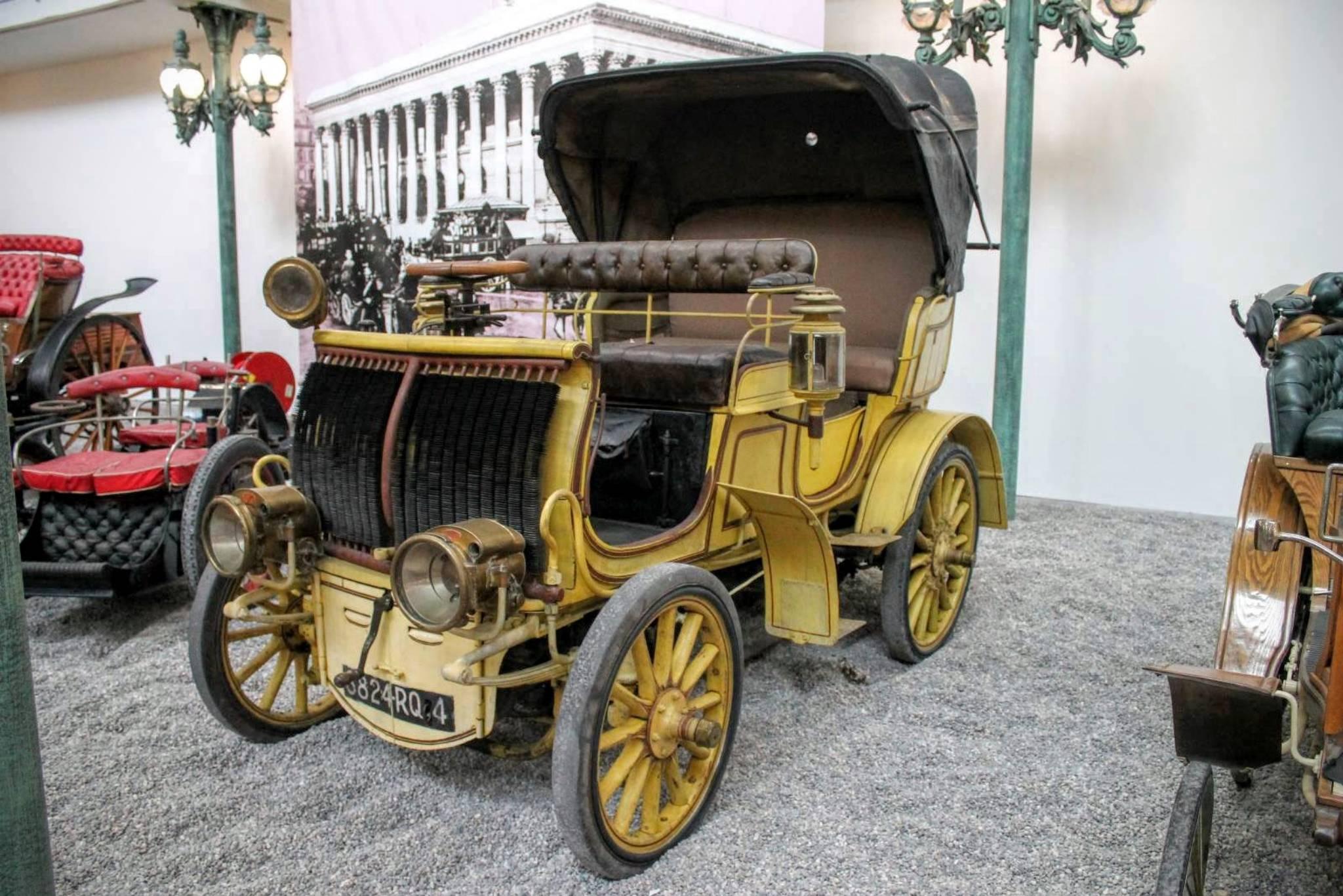 1898 DeDietrich- La Voiture du Tsar