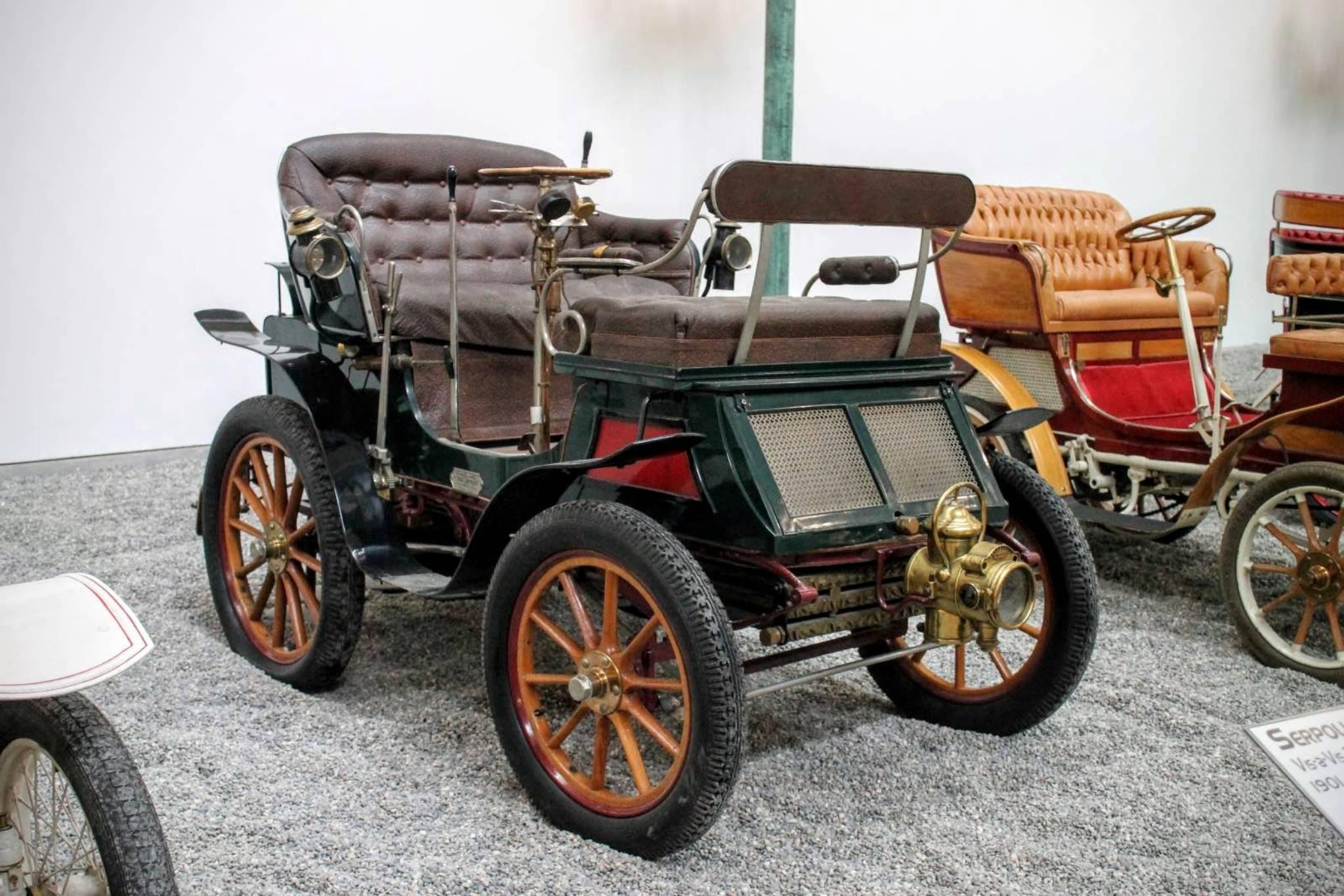 1901 Serpollet Vis a vis Type D