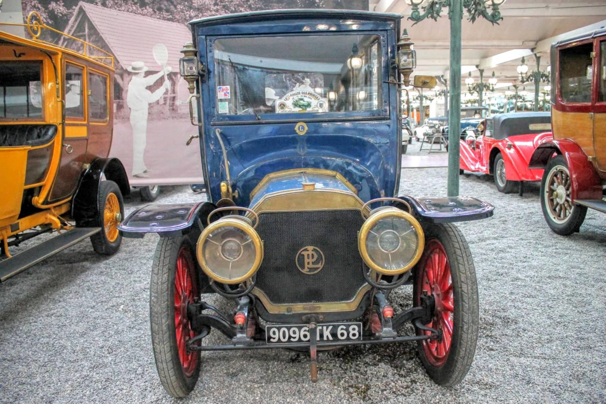 1912 Daimler Coupe Chauffeur TE 20