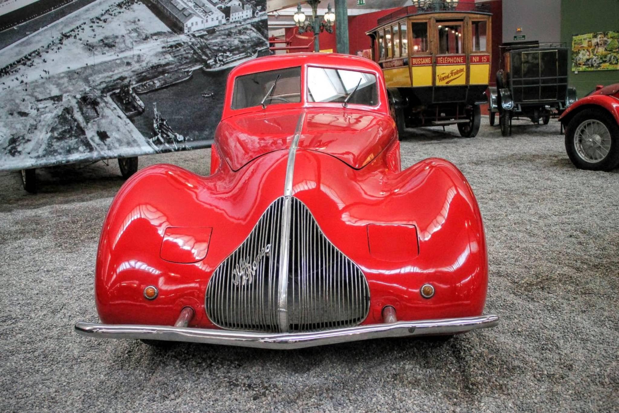 1936 Alfa Romeo Coach 8c 2.9 A