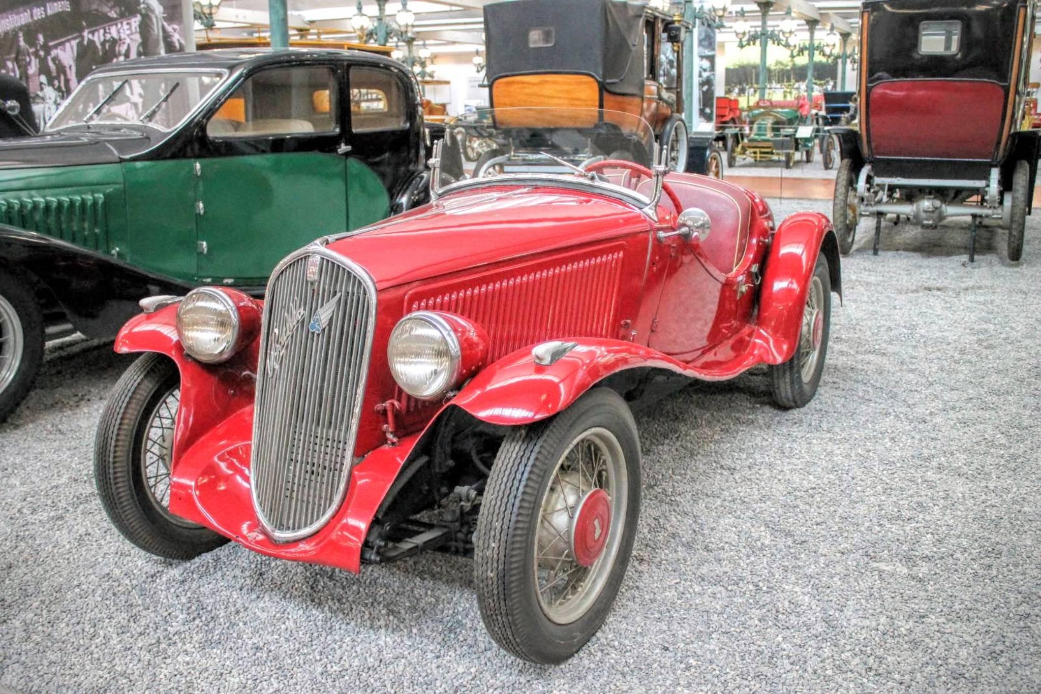 1936 Fiat Roadster 508 S