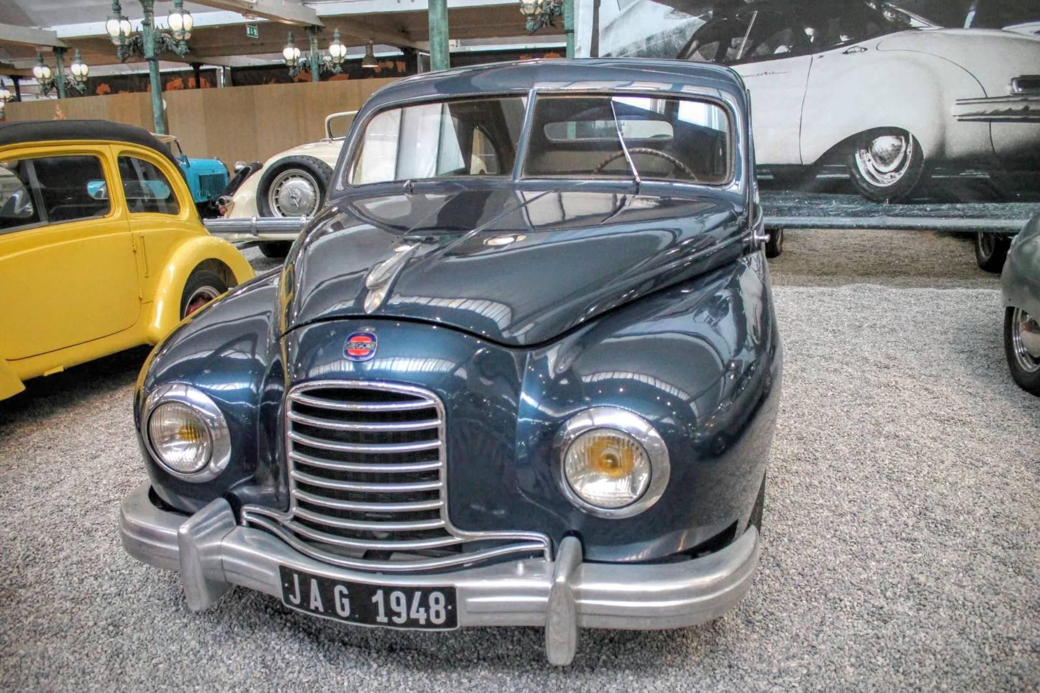 1953 Hotchkiss Gregoire Berline Jag