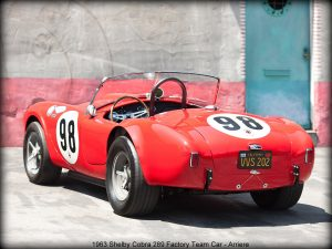 1963 Shelby Cobra 289 Factory Team Car