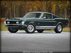 1968 Shelby Ford Mustang GT500 KR