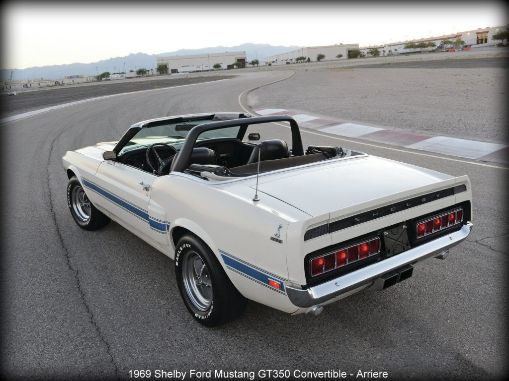 1969 Shelby Ford Mustang GT350 Convertible