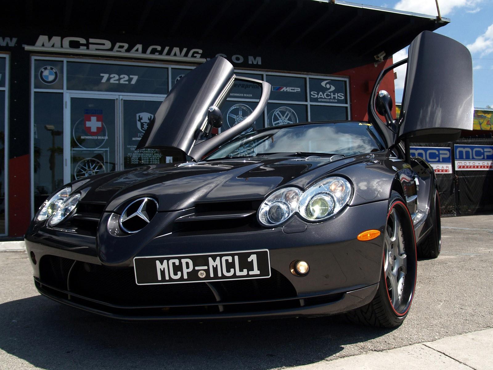 2008 MCP Racing - Mclaren Mercedes SLR C199
