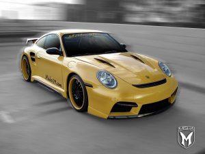2010 Misha - Porsche 911 Turbo 997 GTM