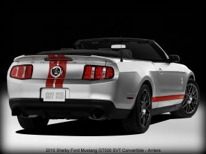 2010 Shelby Ford Mustang GT500 SVT Convertible