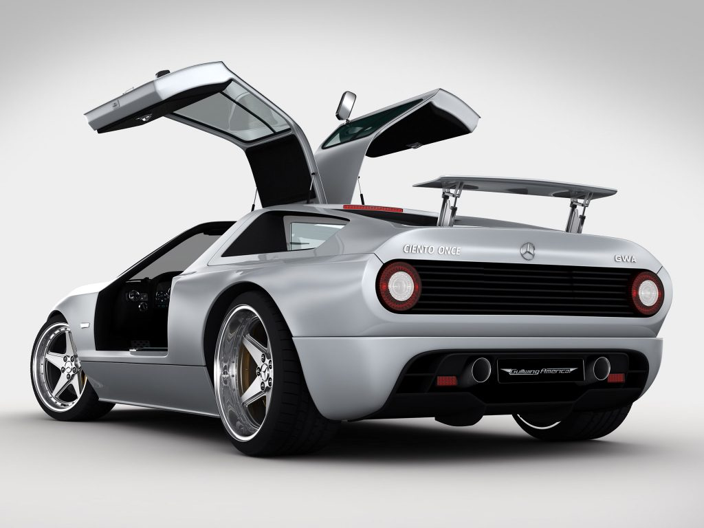 2011 Gullwing America - Mercedes Ciento Once