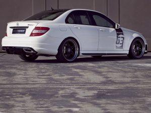 2011 Kicherer Mercedes C63 AMG White Edition