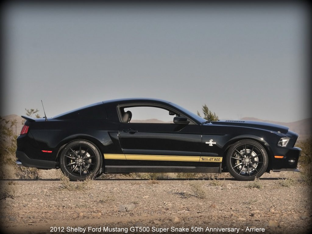 2012 Shelby Ford Mustang GT500 Super Snake 50th Anniversary