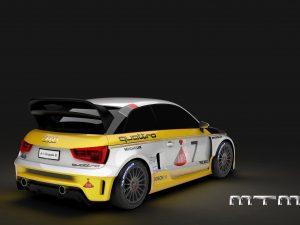 2015 MTM - Audi A1 Quattro Nardo Edition