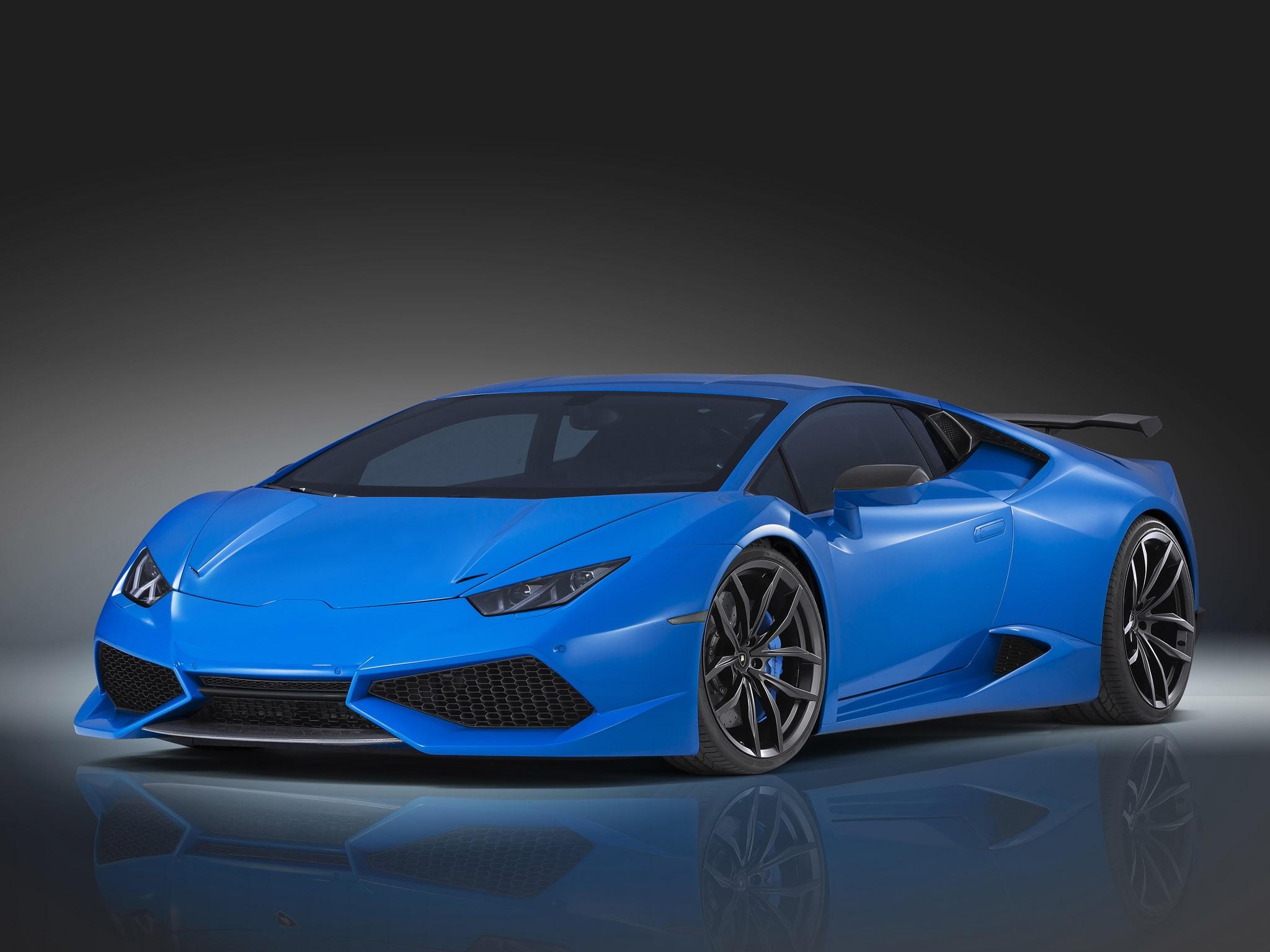 2015 Lamborghini Huracan lp610-4 N-Largo lb724 by Novitec