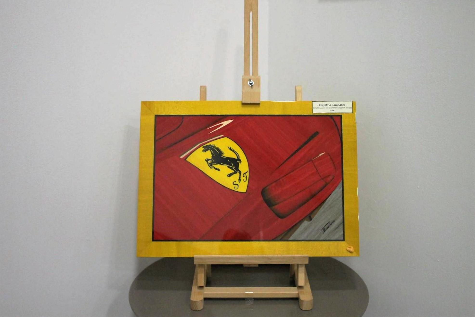 Musee Automobiles De Mulhouse - Affiche Ferrari