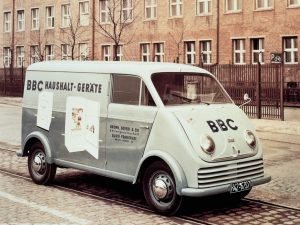 1955 DKW 3=6 F8003 Rapid Delivery Van
