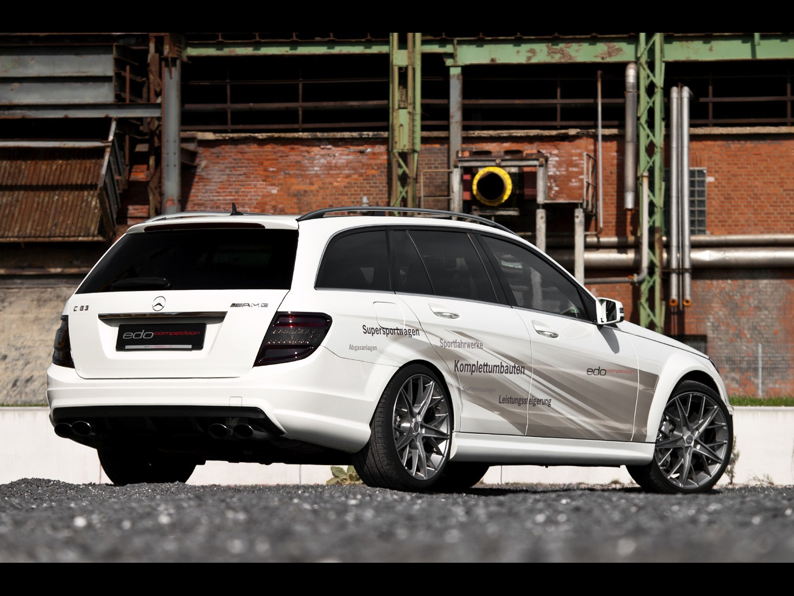 2012 Edo Competition - Mercedes C63 AMG T-Model