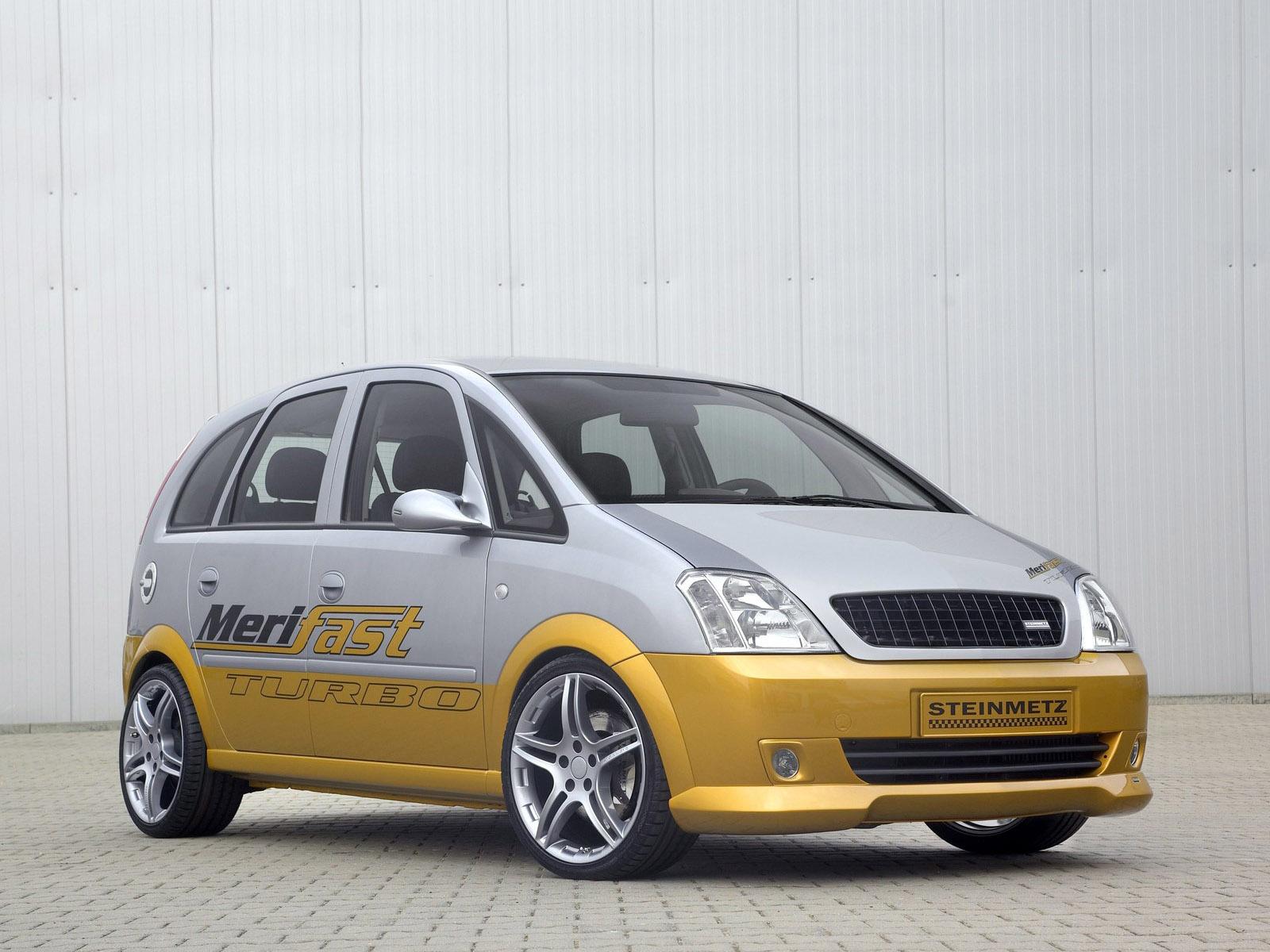 2006 Steinmetz Opel Meriva Merifast Turbo