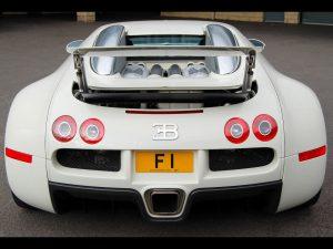 2009 Project Kahn Bugatti Veyron F1