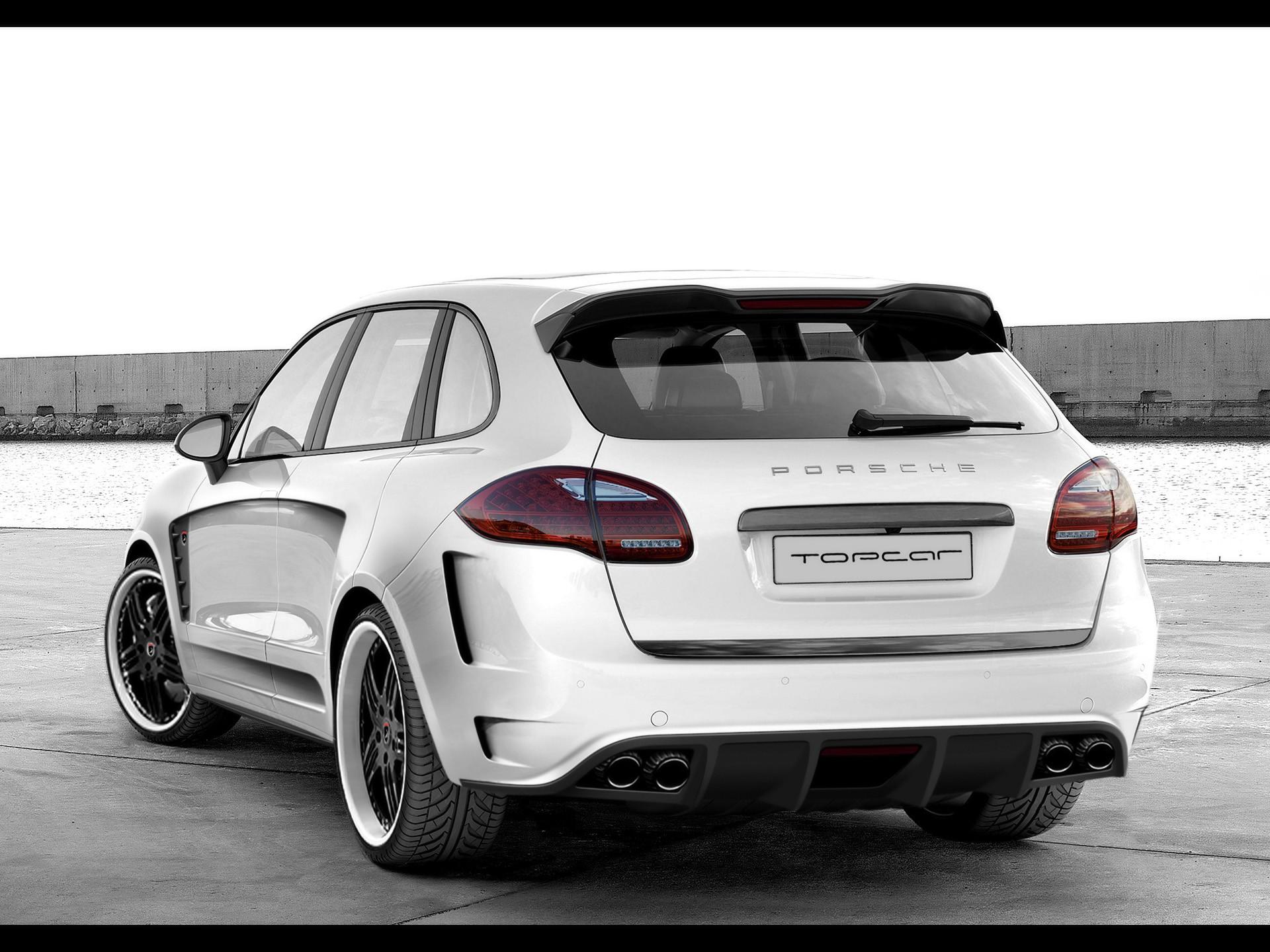 2010 Topcar Porsche Cayenne 2 Vantage GTR