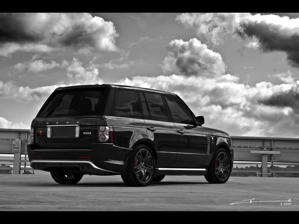 2011 Project Kahn Range Rover Black Vogue