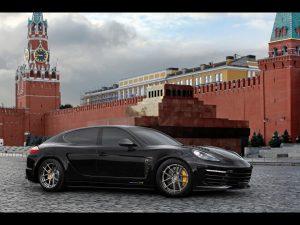 2011 Topcar Porsche Panamera Turbo S Stingray GTR