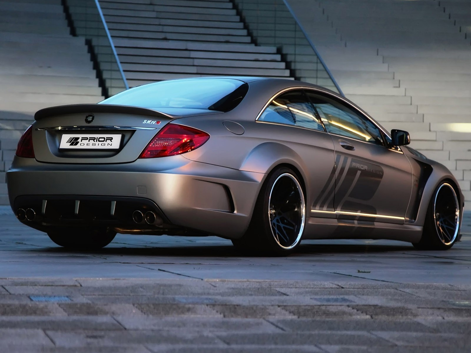 2012 Prior Design - Mercedes CL Black Edition V2