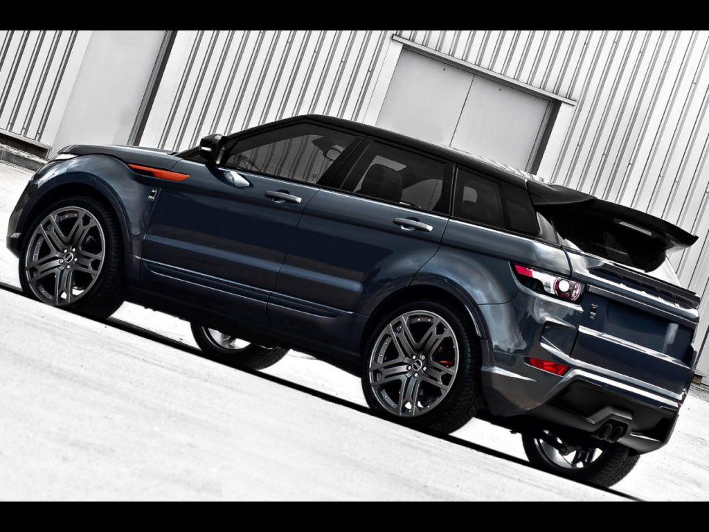 2012 Project Kahn Range Rover Evoque Dark Tungsten RS250