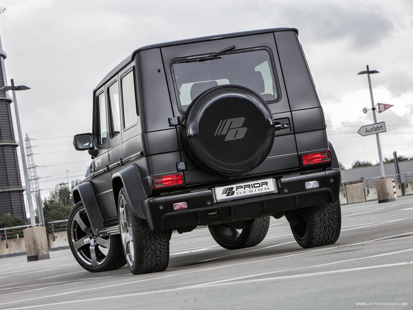 2013 Prior Design - Mercedes Classe G W463