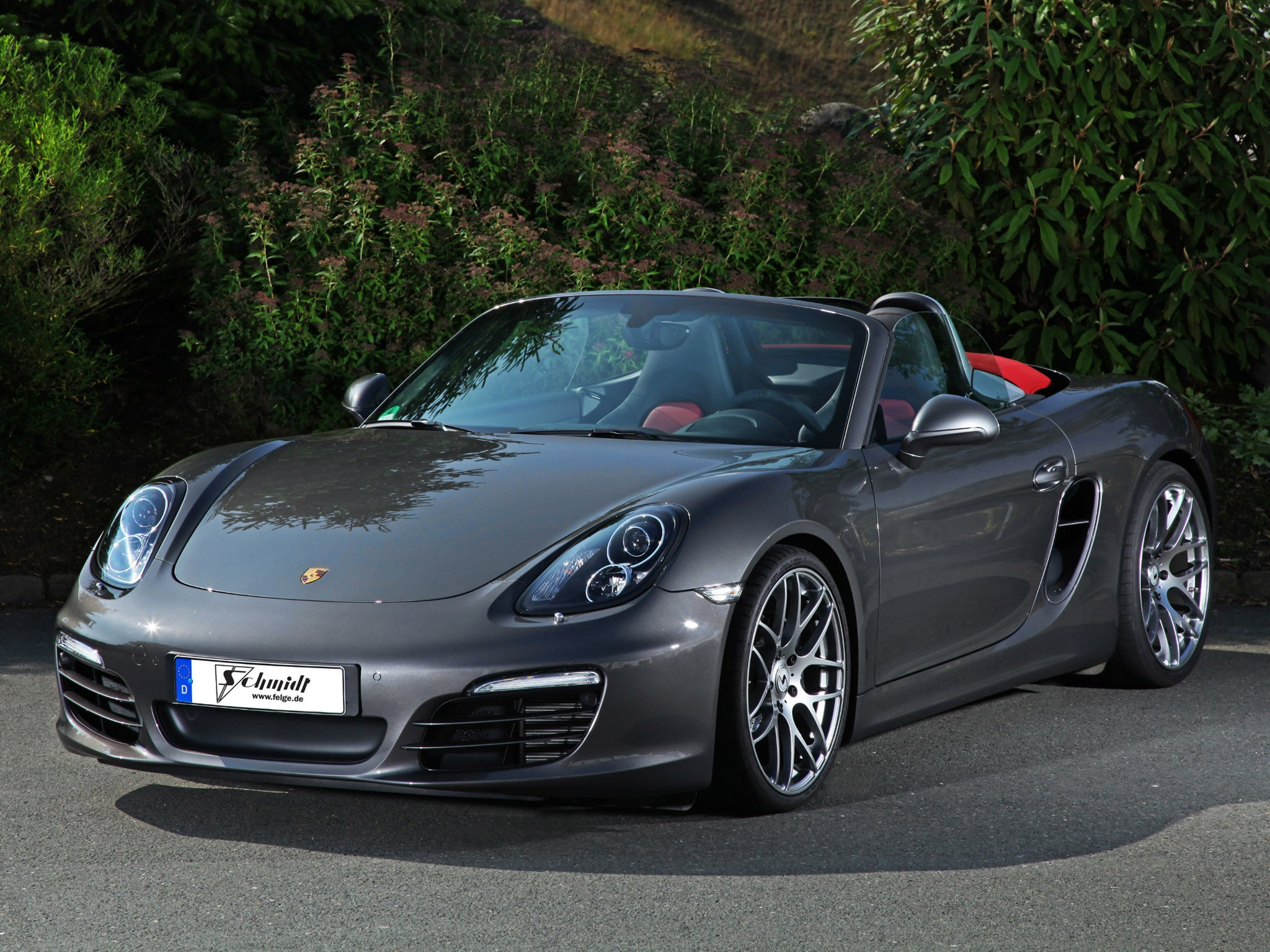Porsche Boxster (2013) - Schmidt Revolution