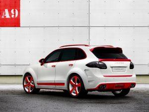 2013 Topcar Porsche Cayenne Vantage 2 Red Dracon 958