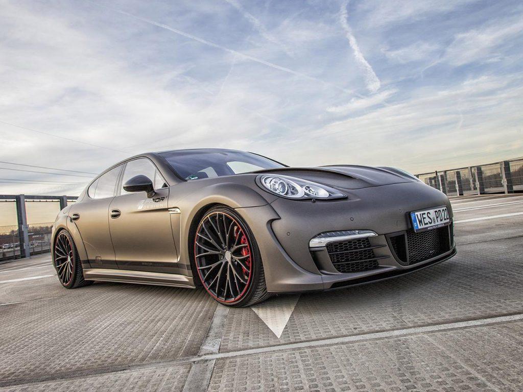 2014 Prior Design - Porsche Panamera Widebodykit