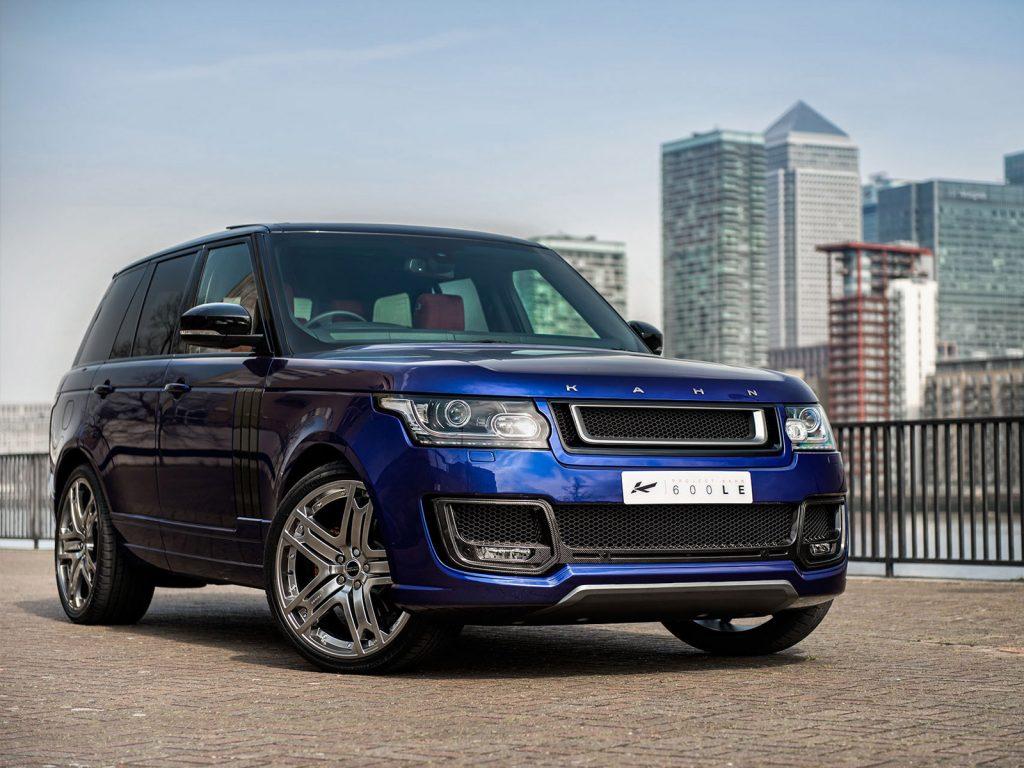 2014 Project Kahn Range Rover 600 Le Bali Blue Luxury Edition