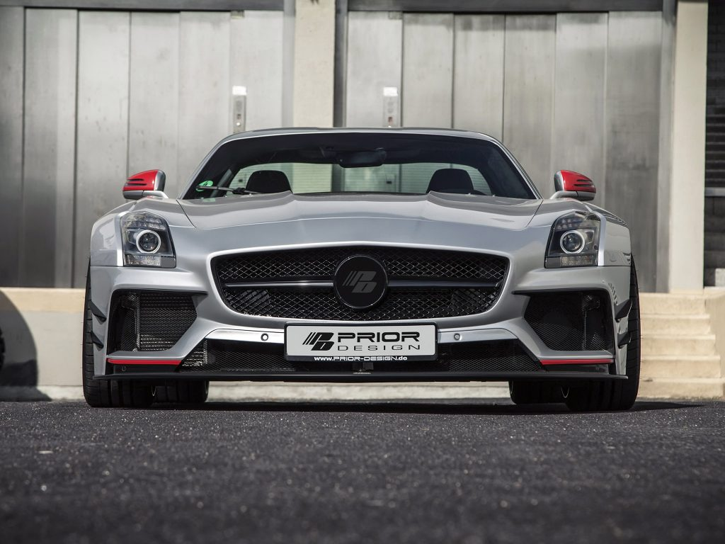 2015 AMG Mercedes SLS PD 900 GT WB C197 by Prior Design