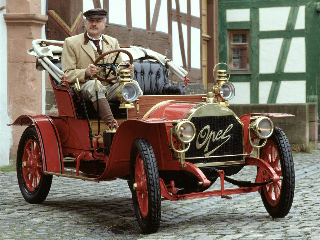 1909 Opel 4-8 PS Doktorwagen