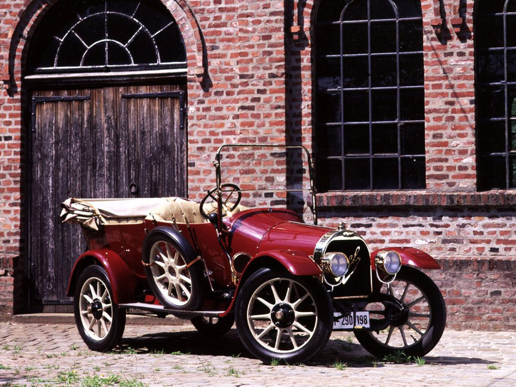 1911 Opel Torpedo Double Phaeton 6-16 PS