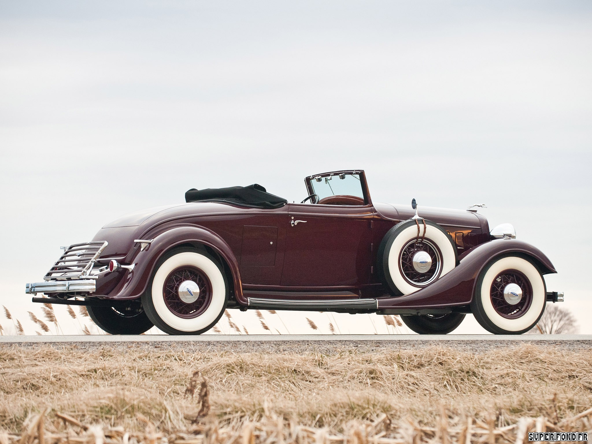 1934 Lincoln Model KA Convertible Roadster