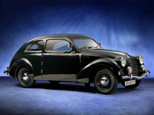 1939 Skoda Rapid ohv Streamlined Tudor Type 922