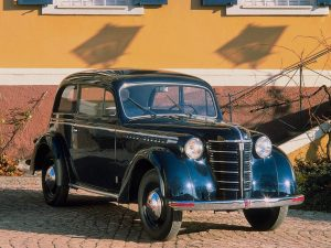 1947 a 49 Opel Olympia 2 Portes Limousine