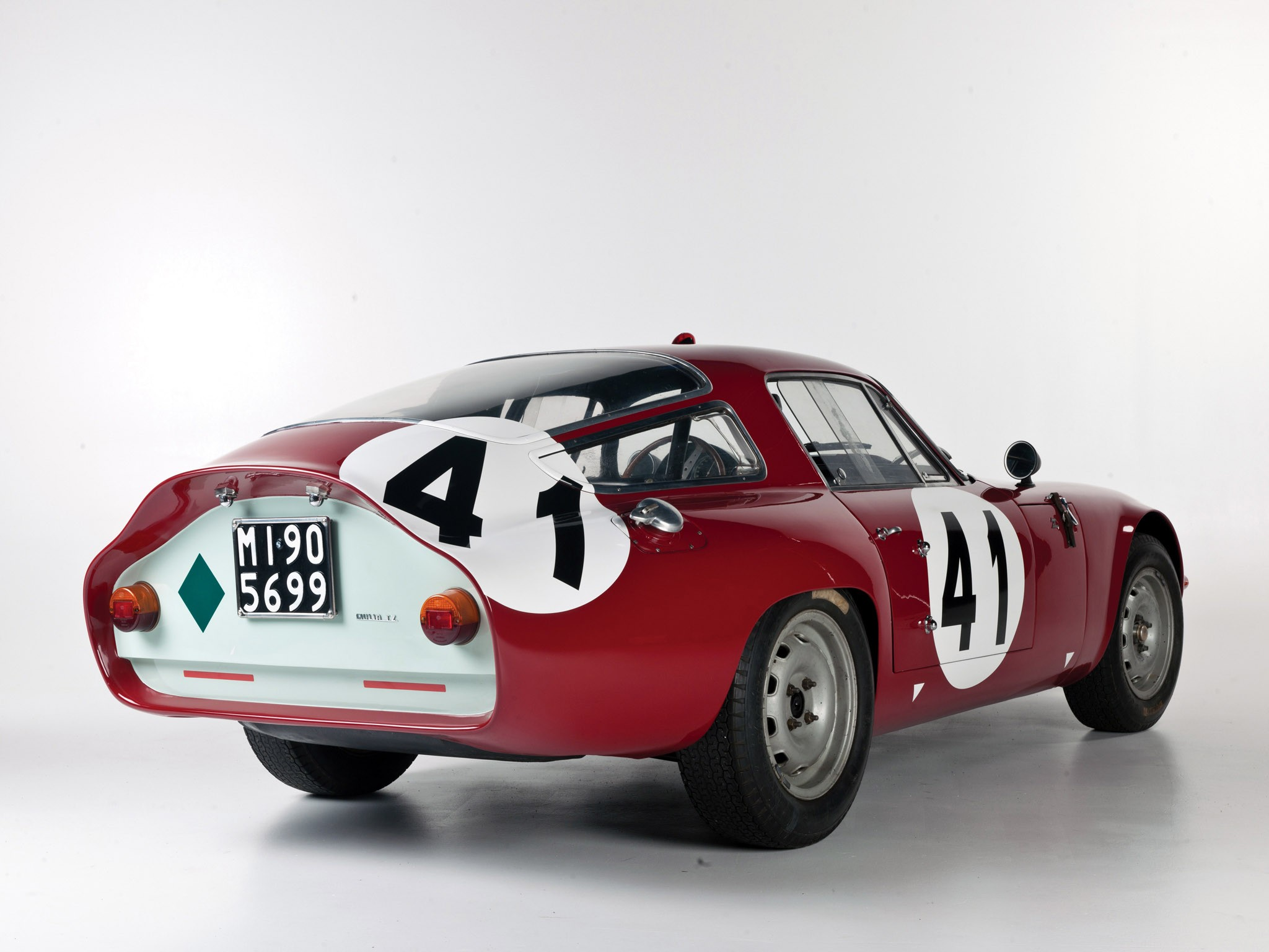 1964 Alfa-Romeo Giulia TZ Le Mans 105