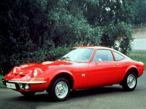 1968 a 1973 Opel GT