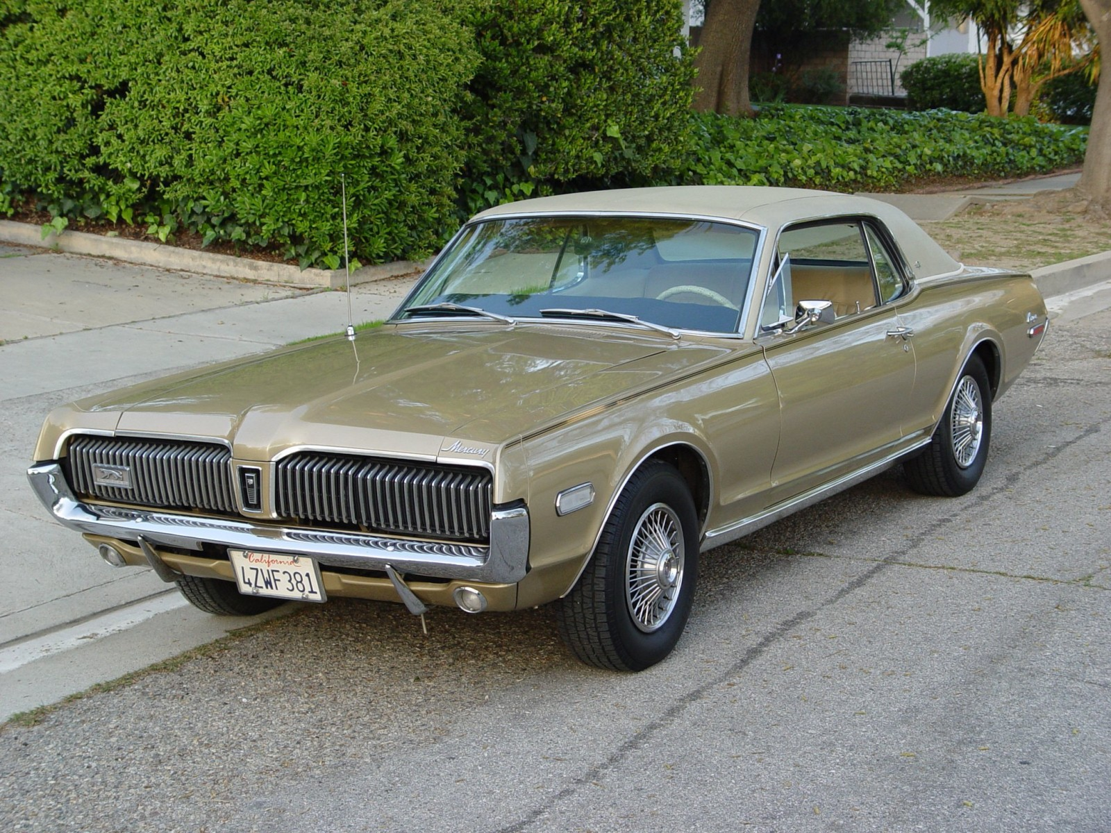 1968 Lincoln Mercury Cougar XT-7