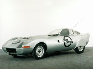 1972 Opel GT Diesel Sport Car Concept