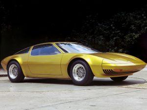 1975 Opel GT W Geneve Concept