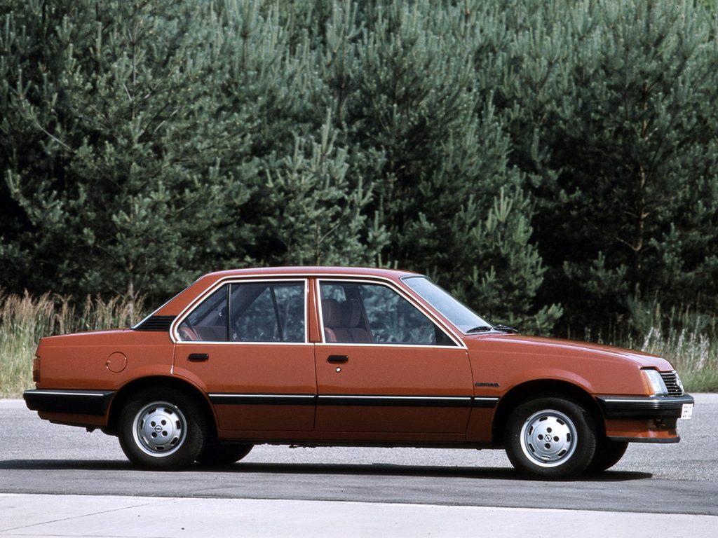 1981 Opel Ascona C11981 Opel Ascona C1