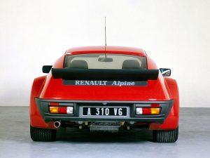 1982-85 Alpine Renault A310 V6 Groupe 4
