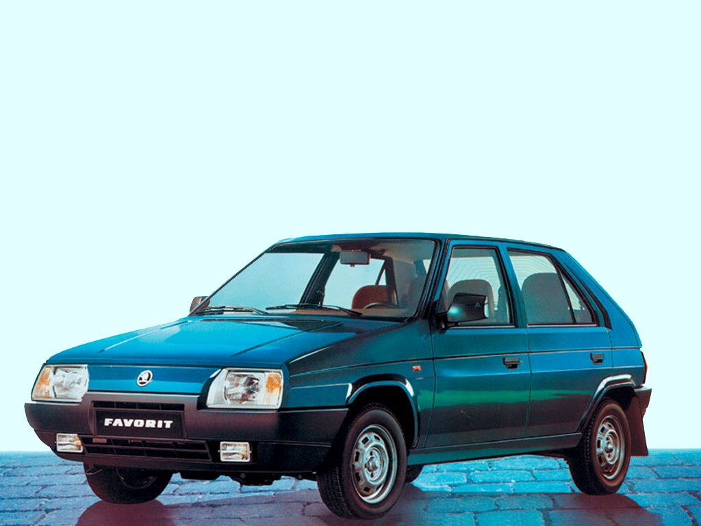 1989 Skoda Favorit Type 781