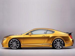 2008 ASI Bentley Continental GTS Gold W70